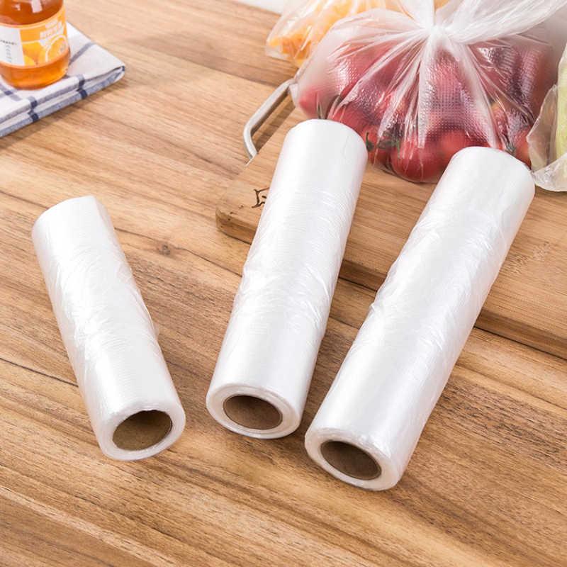 Pacote de proteção de frescura de alimentos grossos geladeira descartável pe saco de alimentos ponto doméstico break-vest estilo frescura protectio