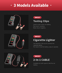 Image 4 - EDIAG probador de batería de coche BM310 BM410, probador de líquido de frenos, 12V, 24V, Digital, 6 /7LED, pantalla OBDII, alta calidad, 2020