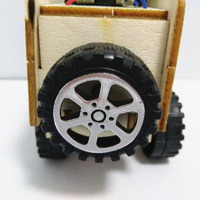 Mobil Kayu Listrik Rakit  5