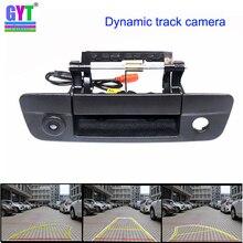 Dinamik parçaları araba dikiz park kamerası Dodge RAM 1500 2500 3500 2009 ~ 2015 gövde kolu ters geri görüş kamerası