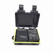 Aksesuarları 2 adet li ion pil 3.7V 1050mAh AKKU yedek piller + 1 adet 5m için su geçirmez pil kutusu gopro Hero3 +/3 kamera