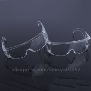 Image 4 - 200pcs/lot Unisex Drool proof Goggles Anti Saliva Glasses Safety Goggles Work Eye Protection Wear Labour Protective Glasses