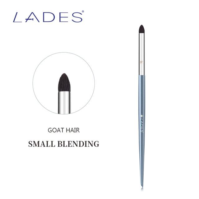 LADES L27 1PCS Blending Makeup Brush Single Eyeshadow Make Up Brushes Animal hair Copper Tube Beauty Tools Natural Goat Hair 2