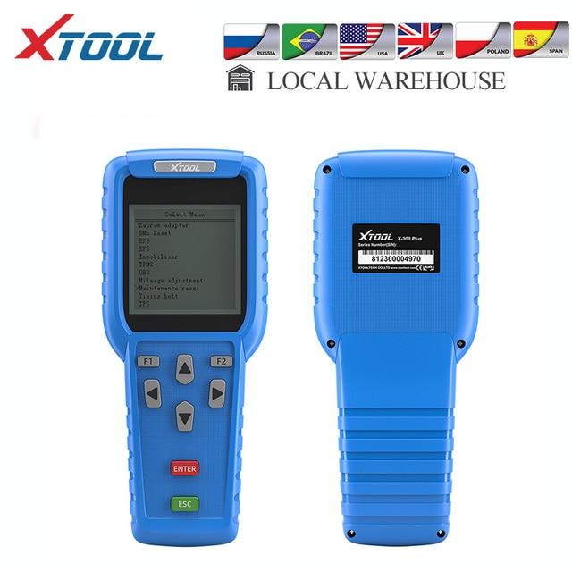 Xtool X300 Plus OBD2 Auto Key Programmeur Mainternance Licht Reast Diagnostic Tool Kilometerteller Aanpassing Code Reader Update Online
