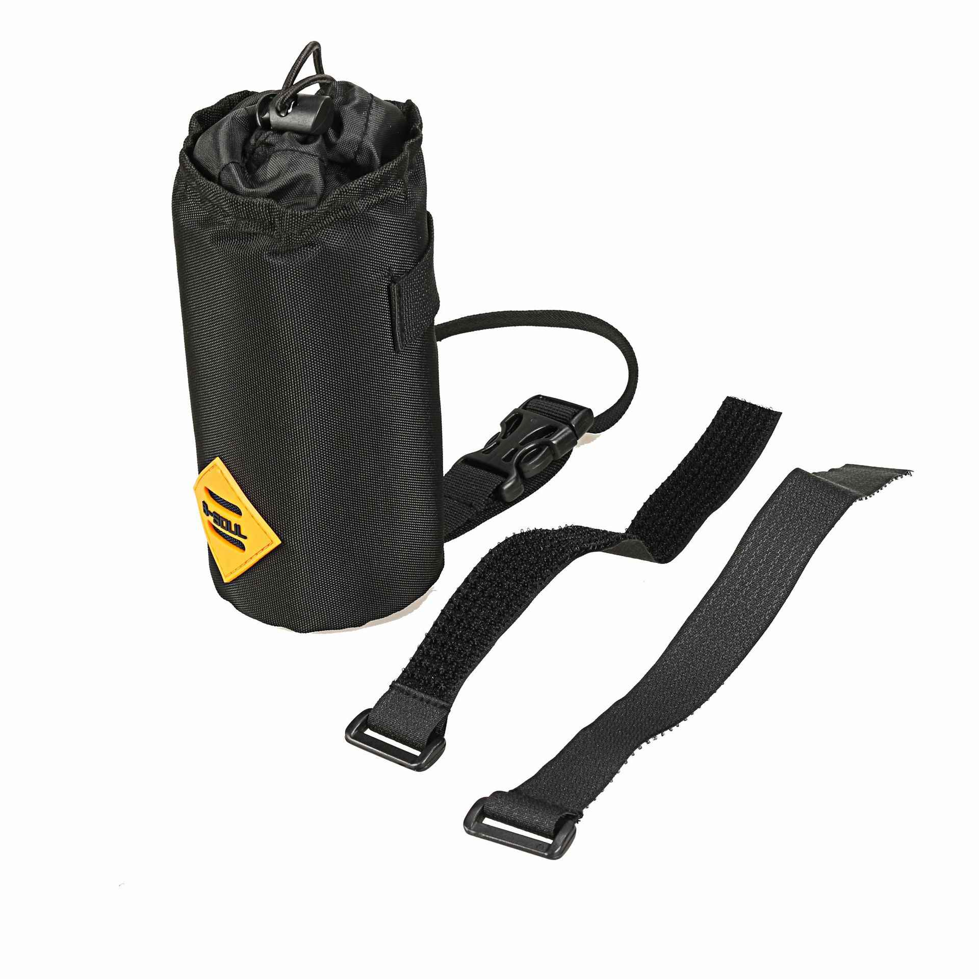 water bottle holder pouch Bikepacking Bicycle handlebar // stem bag
