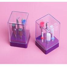 7 шт набор керамических сверл для ногтей электрические сверла