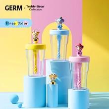 Germ Cartoon Colorful