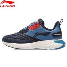 Li-ning men ln nuvem v escudo almofada tênis de corrida forro à prova dwaterproof água sapatos esporte de fitness tênis de casca de água arhq243