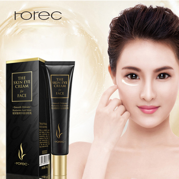ROREC Hyaluronic Acid Eye Cream Anti-Aging Anti-Wrinkle Eye Serum Against Puffiness And Bags Remover Dark Circles Skin Care 20g цена 2017