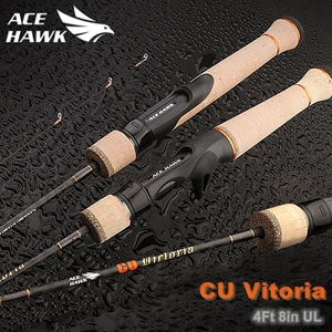 Ace Hawk New BFS Stream Fishing Rod Fast Action Ultralight Spinning Rod Jungle Trout Fishing Rod UL Fishing Tackle