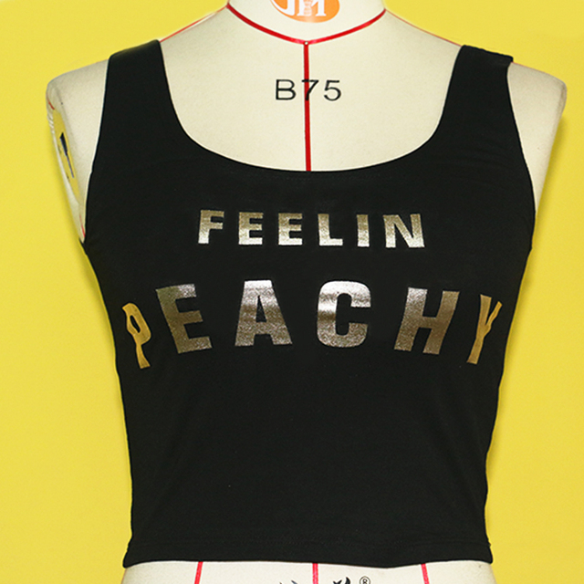 Fanco Women Fashion Letters Spring and Summer Soft Khmer Sexy Without Steel Ring Back Type Breathable Sports Running