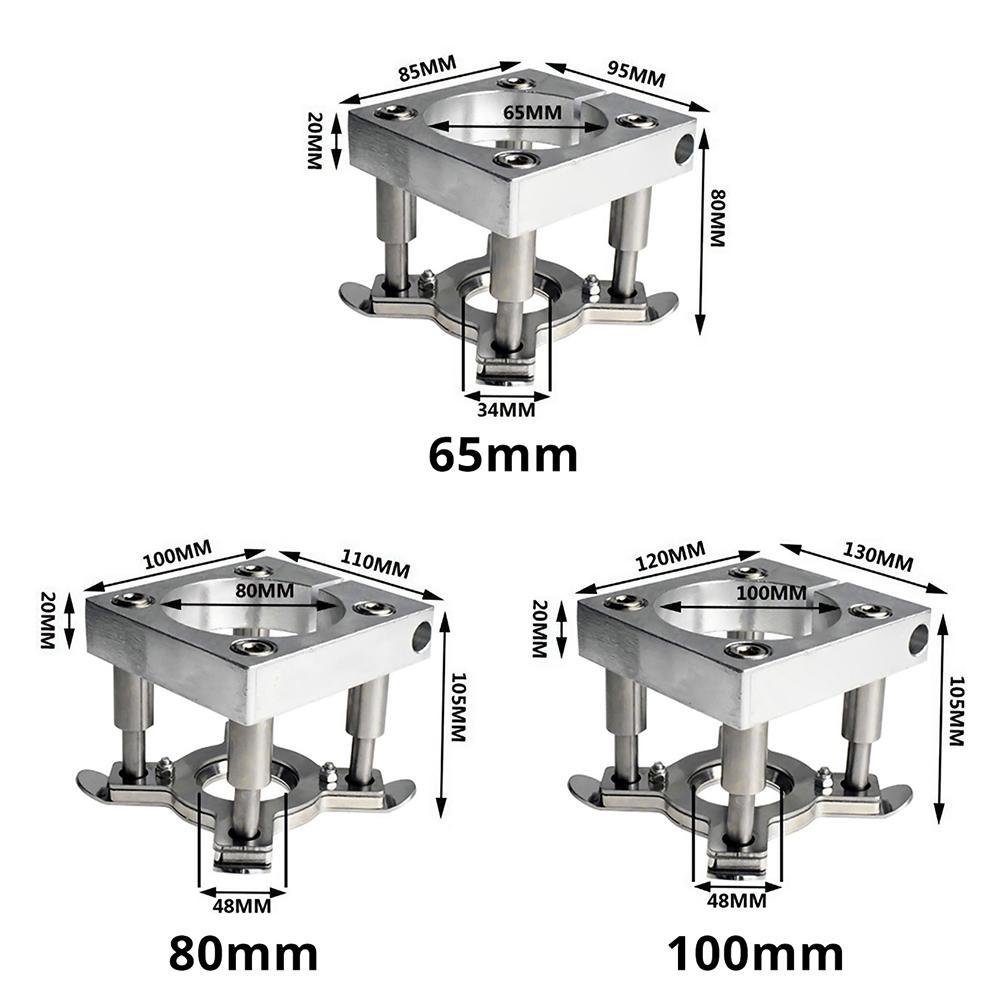 Neue Auto Druck Platte Holzbearbeitung Gravur Maschine Spindel Automatische Platte 65mm 80MM 100mm CNC Computer Gravur Maschine