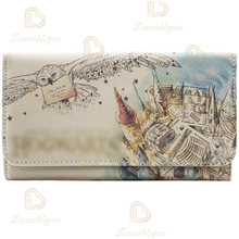 Женский клатч для косплея кошелек денег красивый акварельный