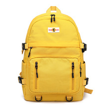fashion canvas backpack women computer school bags for teenagers girls men casual bag mochila