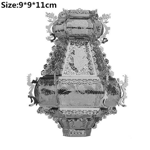 3D Metal Puzzle Model Kit DIY Stainless Steel Starship DOCTOR WHO TARDIS Animal Ship Adult Jigsaw DIY Jigsaw Manual Gift Toys 2
