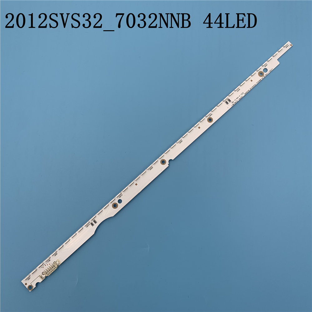 New 44LED 406mm LED Strip For Samsung UA32ES5500 UE32ES6100 SLED 2012svs32 7032nnb 2D V1GE-320SM0-R1 32NNB-7032LED-MCPCB