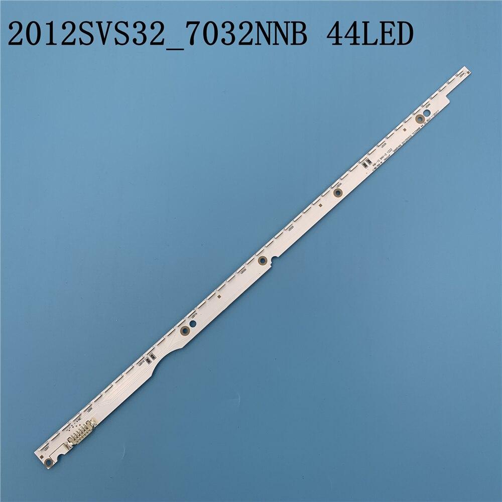 New 44LED 406mm LED Strip For Samsung UA32ES5500 UE32ES6100 SLED 2012svs32 7032nnb 2D V1GE-320SM0-R1 32NNB-7032LED-MCPCB