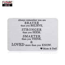 Graduation Gift Wallet Remember Always Birthday Son-Daughter Inserts-Card for From-Dad
