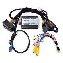 Kamera cofania samochodu interfejs Audio wideo dla mercedesa klasy E W212 z dźwiękiem Online Comand 20 wytycznych dotyczących parkowania systemu NTG4.5