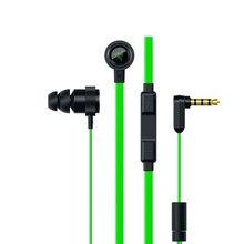 Hammerhead pro v2 fone de ouvido com microfone jogos 3.5mm com fio fones plugues para razer hammerhead v2 pro fones presente