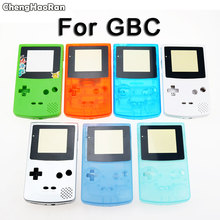 ChengHaoRan New Full Housing Shell Cover for Nintendo GameBoy Color GBC Console Housing Shell Pack with Button Set Screws