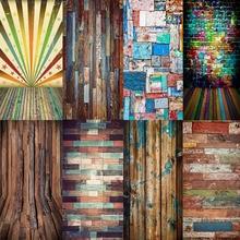 Decor Photography Background Photo-Studio Floor-Brick Wooden Birthday-Party Avezano
