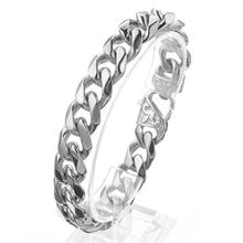 13/15mm Miami Curb Cuban Chain Mens Ornaments Bracelet Jewelry Trendy High Quality Stainless Steel Gold Tone 8-10 inch