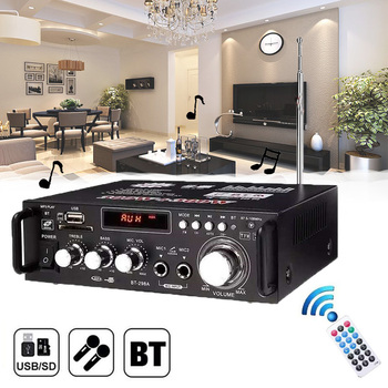 цена на 600w Home Amplifiers Audio bluetooth Amplifier Subwoofer Amplifier Home Theater Sound System Mini Amplifier For Ccar Home