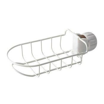 Estante para grifo de cocina estante de drenaje de acabado de tela para lavavajillas