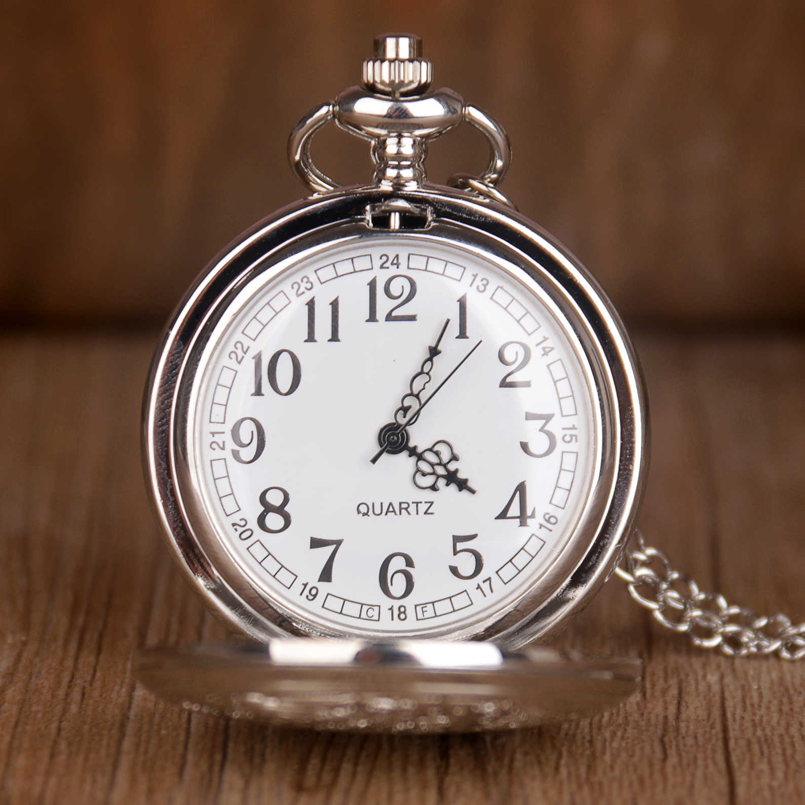 Escultura URSS insignias URSS martillo bolsillo reloj COLLAR COLGANTE cadena reloj moda hombres para regalo TD2020