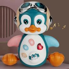 New Musical Swing Baby Educational Toy Cartoon Electric Dancing Penguin Toy Children Infant Toddler Plastic Doll Electronic Toys