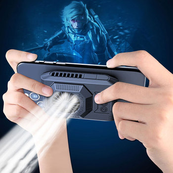 Portable Mobile Phone Cooler Pad Semiconductor Refrigeration Cooling Pad Support PUBG For Smartphone Ipad Tablet Cooling Fan