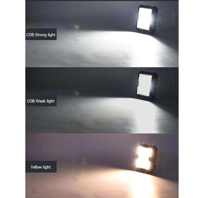 Portable Lantern Camping Light USB Solar Charging Flashlight Camping Tent Light Outdoor Portable Hanging Lamp Solar LED Lantern 2