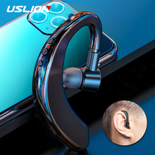 USLION Wireless Bluetooth Earphone For iPhone Android Earphones With Microphone Hands Free Headset Headphone Stand by 24 Hours