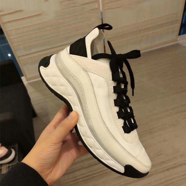 White Women Shoes  Platform Sneakers  4