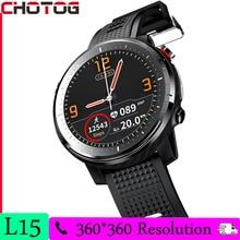 Zaklamp Slimme Horloge Mannen 360*360 Pixel Hd Display Fitness Tracker Hartslagmeter Sport Full Touch Smartwatch IP68 vrouwen