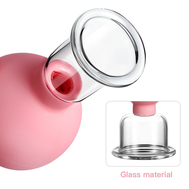 Rubber Massage Body Cups Vacuum Cupping Glasses Face Skin Lifting Body Facial Cups Anti Cellulite Chineses Cupping Therapy Tool 2
