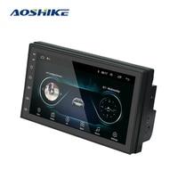 AOSHIKE Andriod GPS Navigation 2DIN HD Auto WiFi 2 Din 7 Car Audio Radio Stereo Car Multimedia Player