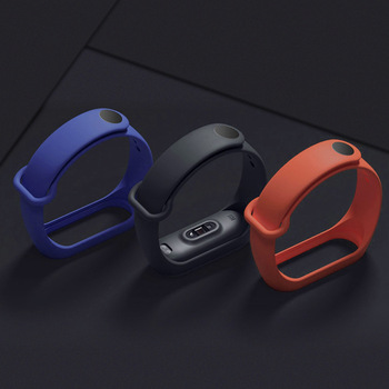 Strap for Mi Band 3 4 5 6 Bracelet for Mi Band 4 5 Strap Silicone Sport Watchband for Xiaomi Band 6 3 Replacement Wristband 2