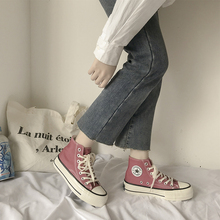 High Quality Classic Women Canvas Shoes 2020 new autumn High