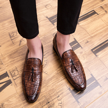 Formal-Shoes Oxfords Wedding Pointed-Toe Casual Party Liesure Men