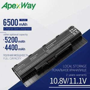 Apexway laptop battery for Asus N46VJ N46VM N46VZ N56 N56D N56DP N56DY N56J N56JK N56JN N56JR N56V N56VB N56VJ N56VM N56VV N56VZ