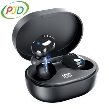PJD A6S TWS bezprzewodowe słuchawki na Bluetooth słuchawki For Xiaomi Redmi słuchawki douszne z redukcją szumów dla wszystkich telefonów Smart tanie i dobre opinie Zaczepiane na uchu Dynamiczny CN (pochodzenie) Prawdziwie bezprzewodowe 122dB Słuchawki do monitora Do gier wideo Zwykłe słuchawki