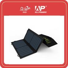 Allforce 5V21W شاحن الهاتف المحمول الشمسية تهمة المزدوج USB الناتج شاحن الهاتف المحمول لفون سامسونج الهاتف الذكي