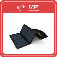 Chargeur de téléphone Portable allpuissances 5V21W Charge solaire double sortie USB chargeur de téléphone Portable pour Smartphone iPhone Samsung