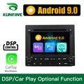 Android 9,0 Восьмиядерный 4 Гб ОЗУ 64 Гб ПЗУ автомобильный DVD GPS мультимедийный плеер автомобильный стерео Deckless для PEUGEOT 405 радио головное устройств...