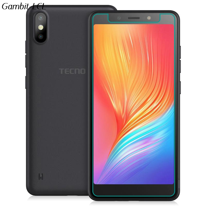 Tempered Glass For Tecno POP 2S Screen Protector 9H On Tecno POP 2S 5.5