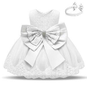Image 5 - Trẻ Sơ Sinh Đầm Giáng Sinh Công Chúa Cho Bé Đầm Dự Tiệc Cho Bé Gái Christening Đầm 1 Năm Sinh Nhật Đầm Quần Áo Bé Sơ Sinh
