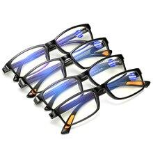 Men Glasses Reading Framed Light-Radiation Diopter Anti-Blue Women New Resin OLNYLO