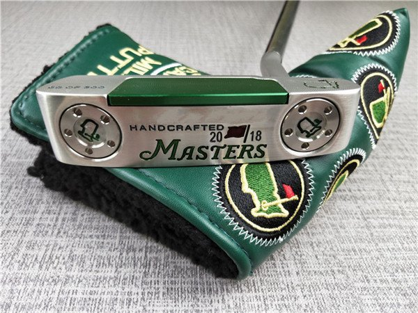 2018 Masters golf putter green color golf clubs putters headcover shaft 33 34 35 inch